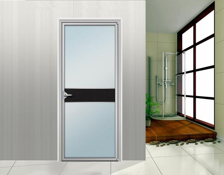 Внутренние со стеклом непрозрачные двери