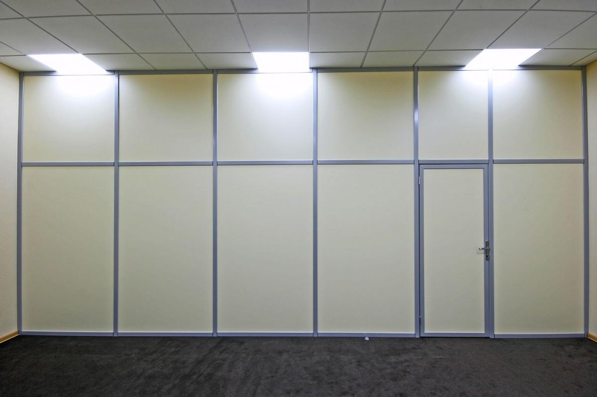 Глухие перегородки для квартиры или офиса