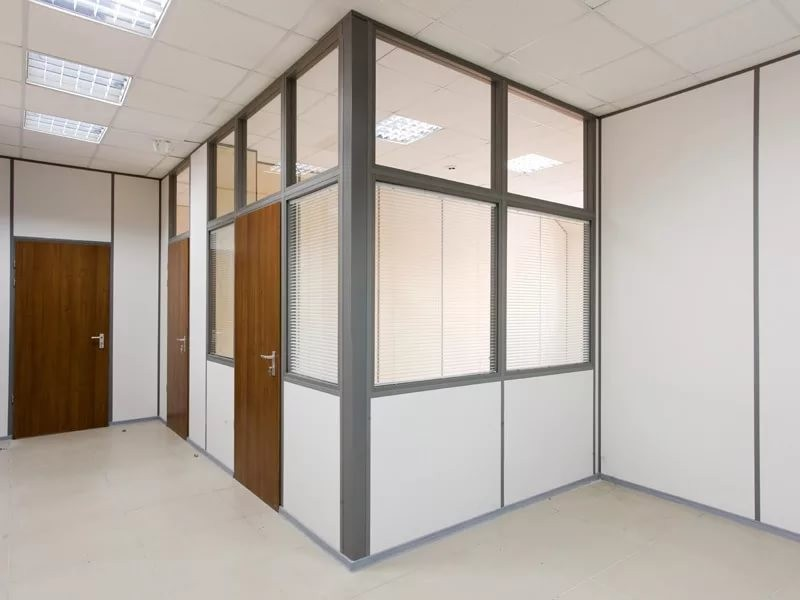 комбинированные перегородки для комнаты, кабинета
