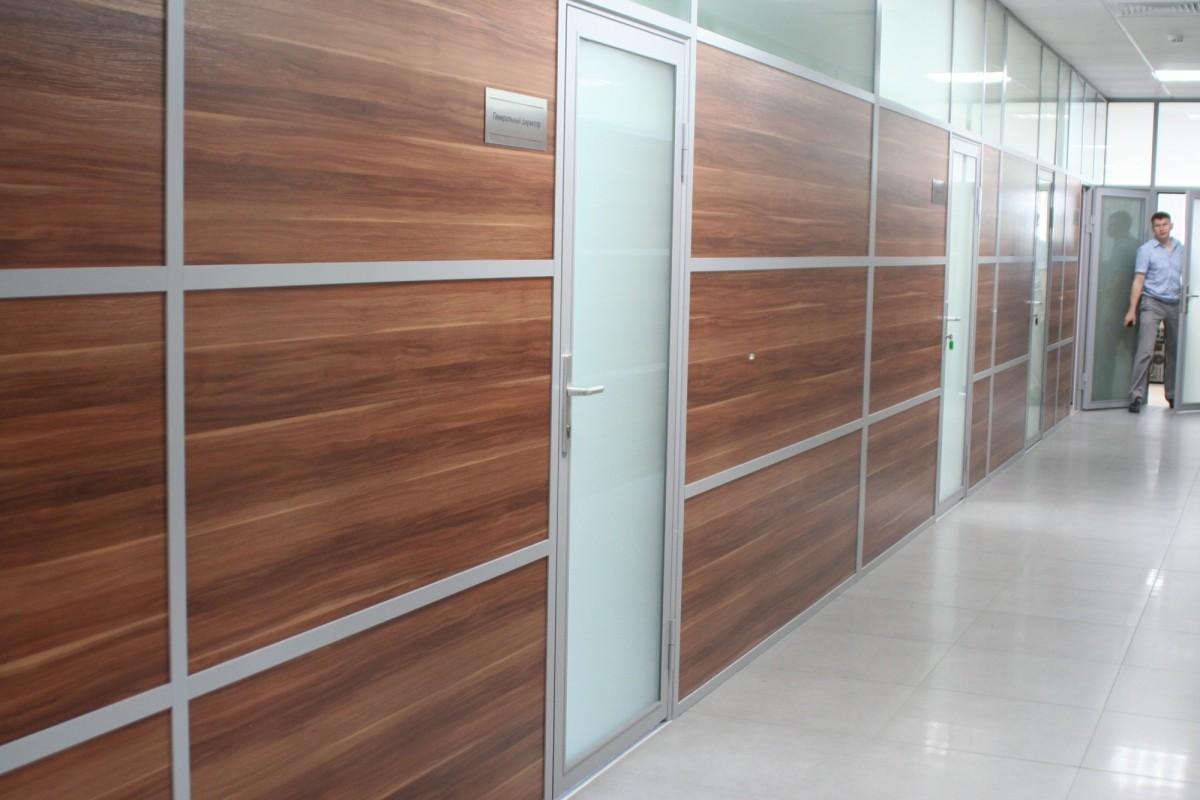перегородки для зонирования офисного помещения