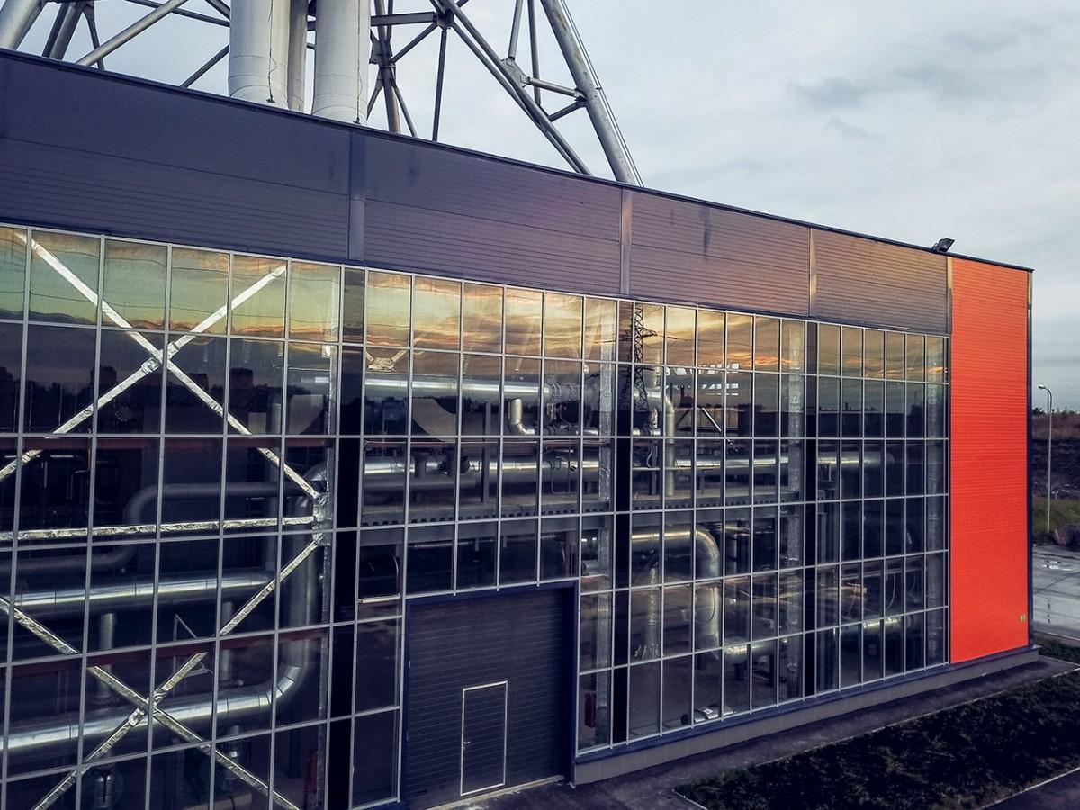 Остекление производственного здания