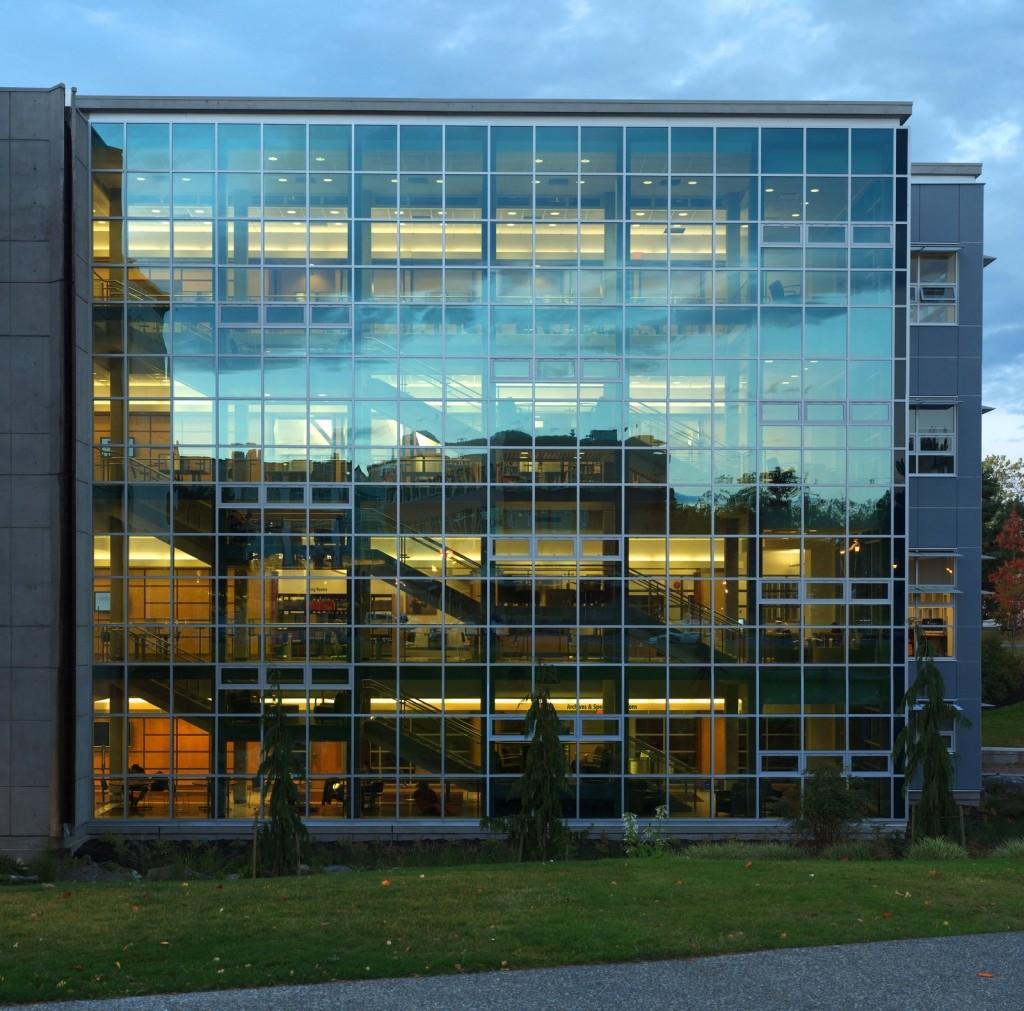 Панорамнгое остекление фасада БЦ