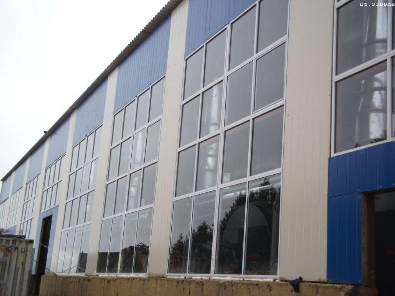 холодное остекление промышленных зданий