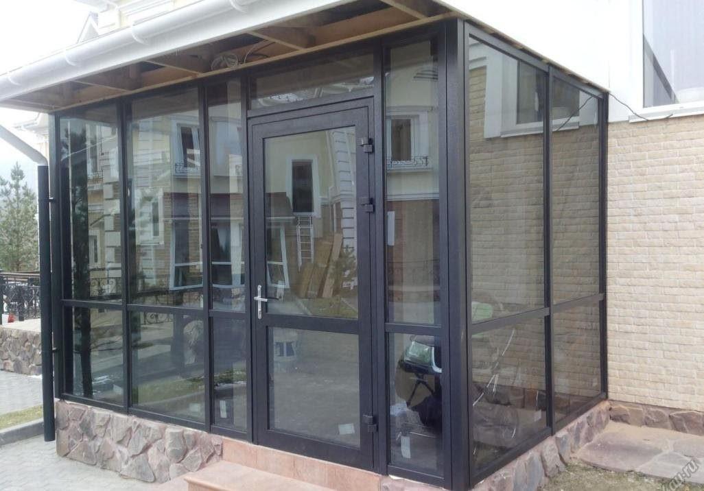 маятниковые входные алюминиевые двери