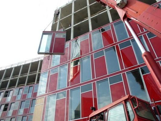 Модульное остекление фасадов