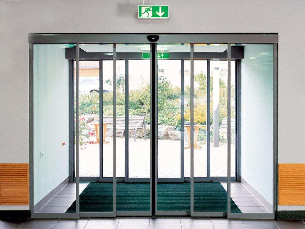 Телескопические двери