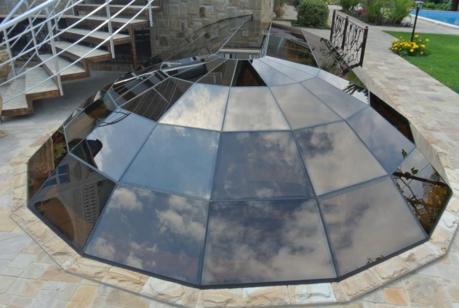 Сферические (купольные) зенитные фонари