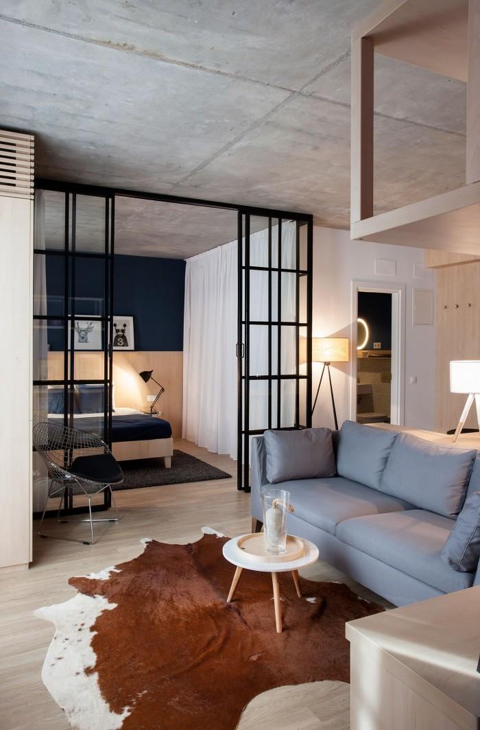 лофт перегородка для квартиры, студии