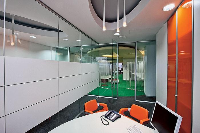 Офисные перегородки комбинированные
