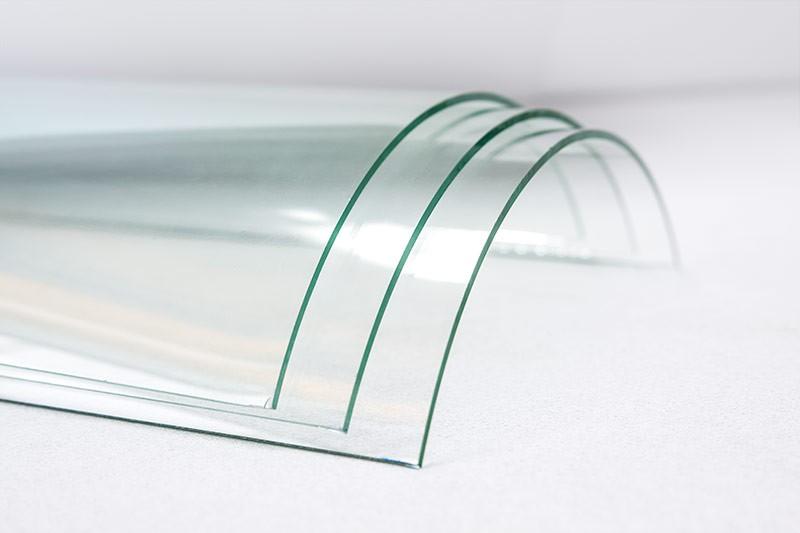 гнутое, моллированное стекло