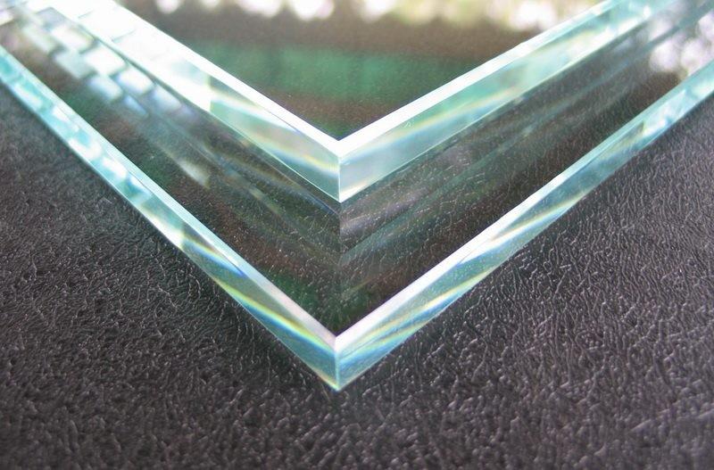 Закаленное стекло с еврокромкой