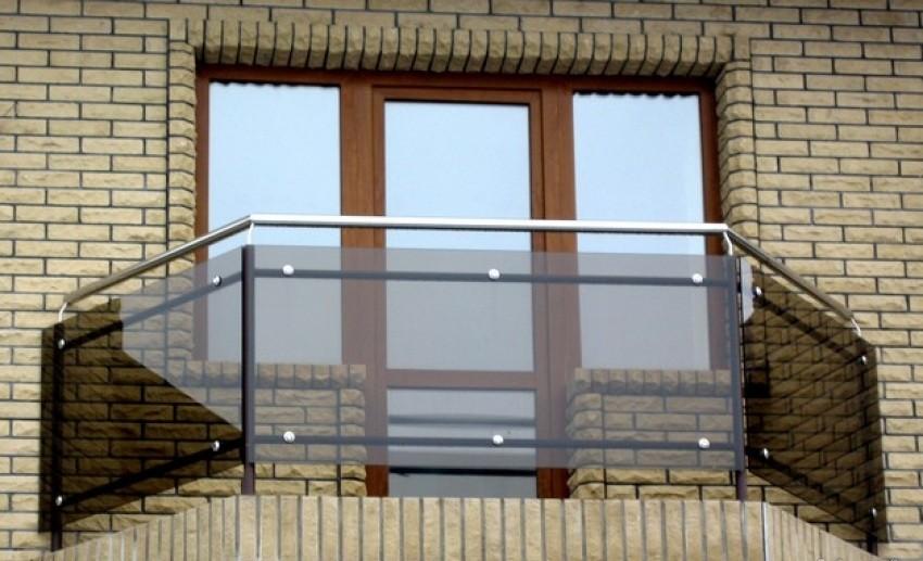 Ограждения для балкона (лоджии) из стекла