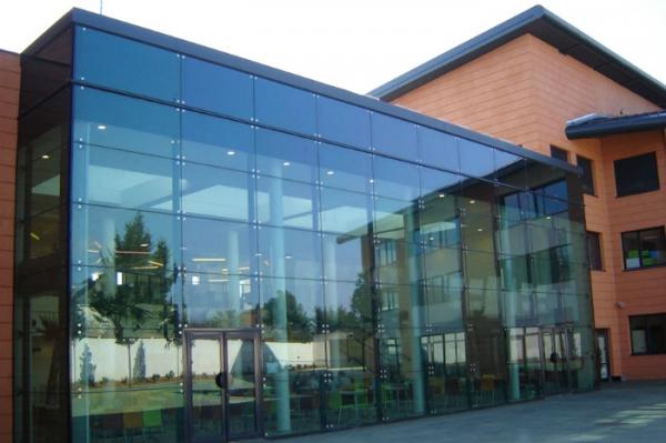 Остекление завода. Окна для промышленного здания